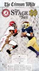 December 7, 2012 Crimson White BCS Preview edition